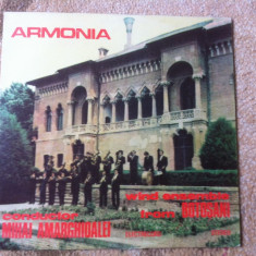 FANFARA ARMONIA DIRIJOR MIHAI AMARGHIOALEI BOTOSANI DISC VINYL Muzica Populara electrecord, VINIL