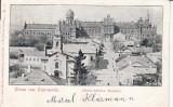 CERNAUTI BUCOVINA GRUSS AUS CZERNOWITZ   CLASICA  CIRC.1899  EDITURA  LEON KONIG, Circulata, Printata