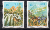 JUGOSLAVIA 1977, Fauna - Flora, serie neuzata, MNH