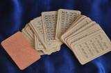 """Joc romanesc """" Joc Ghicitoare""""- Carti Cartonate romanesti vechi. De colectie"""