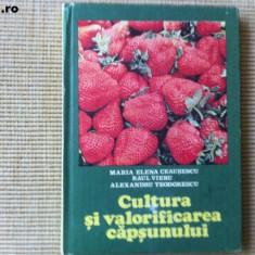 CULTURA SI VALORIFICAREA CAPSUNULUI MARIA ELENA CEAUSESCU RAUL VIERU hobby