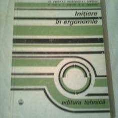 INITIERE IN ERGONOMIE  ~ COLECTIV DE AUTORI