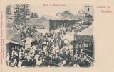 CAMPULUNG , SALUTARI DIN ROMANIA, BALCIU LA CAMPU-LUNG, FOTOGRAFIA FR. DUSCHEK, Necirculata, Printata