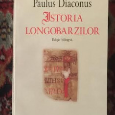 Paulus Diaconus ISTORIA LONGOBARZILOR ed. bilingva latina-romana