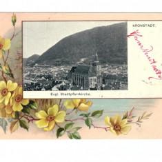 CARTI POSTALE VECHI ROMANIA-BRASOV - - Carte Postala Transilvania 1904-1918, Necirculata, Printata