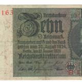 SV * Germania  10  MARK  1929  (22 ianuarie)     XF