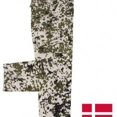 Pantaloni camuflaj snow camo, XL, Barbati