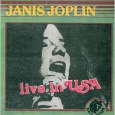 Janis Joplin – Live In USA (LP - Romania - VG) - Muzica Rock electrecord, VINIL