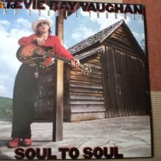 Stevie Ray Vaughan And Double Trouble Soul To Soul blues rock disc vinyl lp 1985 - Muzica Blues, VINIL
