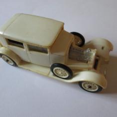 MASINUTA COLECTIE PLASTIC PANHARD 1927 TBILISI(GEORGIA) MADE IN USSR ANII 80 - Macheta auto Alta, 1:32