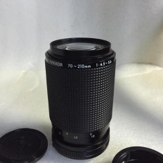 Vand obiectiv NIKON AI-S 70-210mm - Obiectiv DSLR Nikon, Tele, Manual focus, Minolta - Md