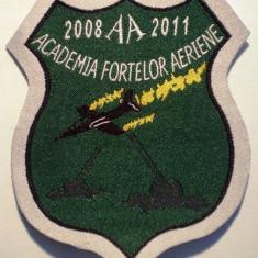 5.487 ROMANIA ECUSON MILITAR ARMATA AVIATIE ACADEMIA FORTELOR AERIENE BRASOV