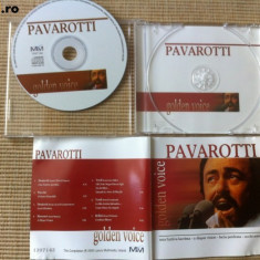 Pavarotti golden voice cd disc opera muzica clasica - Muzica Opera