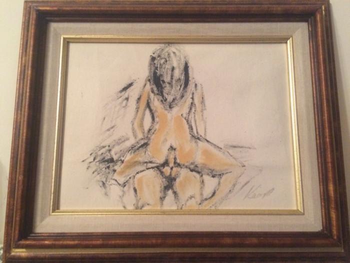 Tablouri nud erotice vintage foto mare