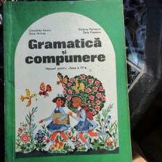 GRAMATICA SI COMPUNERE CLASA IV -A - Manual scolar, Clasa 4, Alte materii