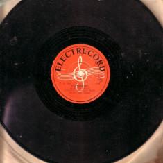 Disc patefon - Leon Klepper -Te iubesc si azi, Campanulla - Muzica Lautareasca electrecord, Alte tipuri suport muzica