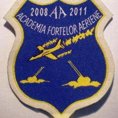 5.501 ROMANIA ECUSON MILITAR ARMATA AVIATIE ACADEMIA FORTELOR AERIENE BRASOV