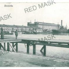 1379 - GALATI, Docurile - old postcard - unused - Carte Postala Moldova 1904-1918, Necirculata, Printata