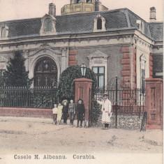CORABIA, CASELE M. ALBEANU - Carte Postala Oltenia pana la 1904, Necirculata, Printata