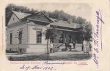 SALUTARI  DIN CALAFAT  PAVILIONU  DIN  GRADINA  DEBARCADER  CLASICA  CIRC. 1902, Circulata, Printata