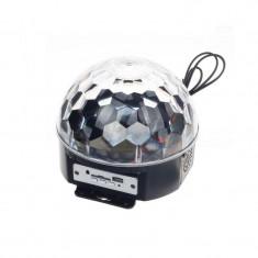Glob disco cu Telecomanda - Laser lumini club