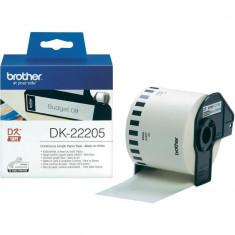 Brother Benzi termice Brother DK22205 pentru etichetatoare, Hartie