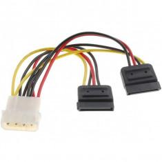 Cablu dublu de alimentare SATA