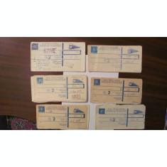 PVM - Lot 13 bilete tren international Romania Germania comuniste