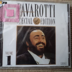 Luciano Pavarotti Special 60th Birthday Edition 1 cd disc sigilat muzica opera