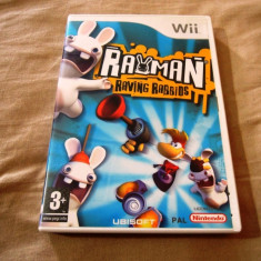 Rayman Raving Rabbids, Wii, original, alte sute de jocuri! - Jocuri WII Ubisoft, Actiune, 3+, Multiplayer