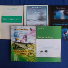LOT 5 CARTI POEZIE ROMANEASCA CONTEMPORANA - 2004/2011- CU AUTOGRAFE/DEDICATII - Carte poezie