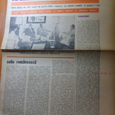 Ziarul saptamana 20 aprilie 1979-vizita lui ceausescu in republica mozambic
