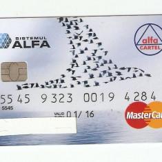 CARD BANCAR ALFA