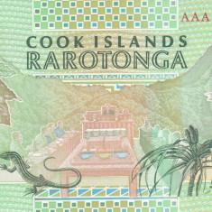 Bancnota Insulele Cook 10 Dolari 1992 - P8 UNC