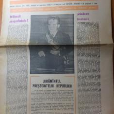 Ziarul saptamana 4 aprilie 1980-juramnatul rostit de ceausescu