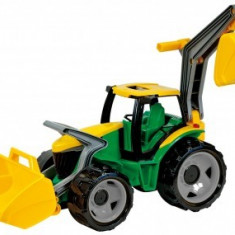 Tractor Cu Excavator Si Cupa Gigant Lena 102Cm - Vehicul