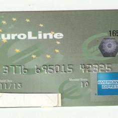 CARD BANCAR EUROLINE / pentru colectionari.