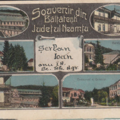 NEAMT, SOUVENIR DIN BALTATESTI, JUDETUL NEAMTU - Carte Postala Moldova dupa 1918, Circulata, Printata