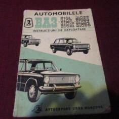 AUTOMOBILELE BA3 CARTE TEHNICA - Carti auto