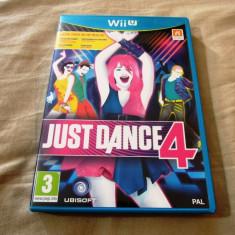 Joc Just Dance 4, Wiiu, original, alte sute de jocuri! - Jocuri WII U, Simulatoare, 3+, Multiplayer