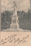 BUCURESTI, MONUMENTUL HELIADE RADULESCU, CIRCULATA, STAMPILA AUG.''900, Printata