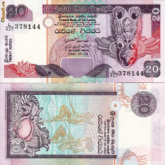 SRI LANKA 20 rupees 2006 UNC!!! - bancnota asia