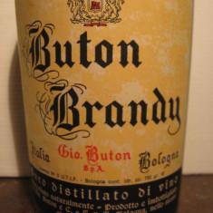 Brandy Buton, vecchia romagna, cl 75 gr 40 ani 1970 - Cognac