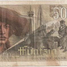 GERMANIA 50 MARCI 1948 F - bancnota europa