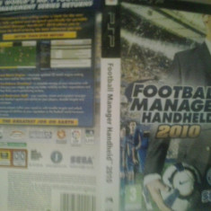 Fotball Manager Handheld 2010 - Joc PSP ( GameLand ) - Jocuri PSP, Sporturi, Toate varstele, Single player