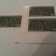 Germania 1987 reisfeld mnh - Timbre straine, Nestampilat