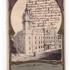 CARTI POSTALE VECHI ROMANIA-LITHO-CLUJ 1902 - Carte Postala Transilvania pana la 1904, Circulata, Printata, Brasov