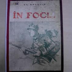 AL.ANESTIN- IN FOC, privelisti si aspecte din prima parte a campaniei, 1918 - Istorie