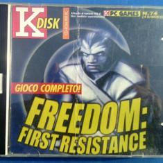 Joc pc Freedom first resistance - Jocuri PC Altele, 12+