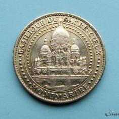 Jeton FRANTA - Basilique du Sacre - Coeur - 2014 - Jetoane numismatica